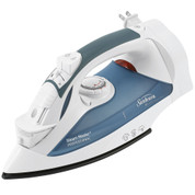 Sunbeam 4274-200 GreenSense SteamMaster Full Size Professional Hotel Iron with Retractable Cord and ClearView, White
