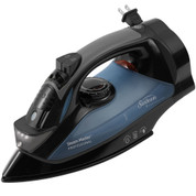 Sunbeam 4275-200 GreenSense SteamMaster Full Size Professional Hotel Iron with Retractable Cord and ClearView, Black