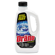 Drano Liquid Clog Remover, 32 oz., Case of 12