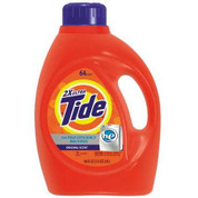 Tide 2X HE Liquid Launder Detergent, 100 oz, Case of 4