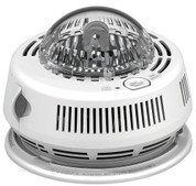 First Alert 7010BSL Photo Smoke Alarm with Integrated Strobe and AAA Battery Backup, 120V AC/DC