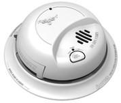 First Alert 9120LBL Smoke Alarm, 10 Year Lithium Battery Backup, Locked Battery Drawer 120V AC/DC