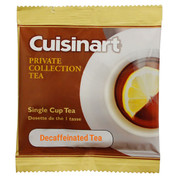 Cuisinart Private Collection Decaf Tea 1-cup Pod, Case of 200
