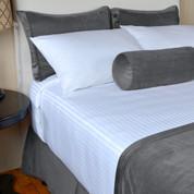 Berkshire Opulence Dobby Mink Bed Scarf, Twin 24x58, 6 Per Case Price Per Each
