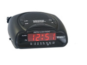 Sonnet Compact LED AM/FM Clock Radio