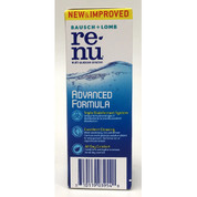 Bausch & Lomb ReNu Advanced Formula Contact Lens Solution, 6/Carton