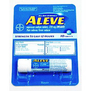 Aleve All Day Strong® Tablets 10 Count Vial, 6/Ctn