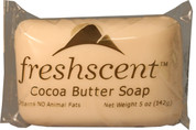 Freshscent Cocoa Butter Soap, 5oz, Case of 72