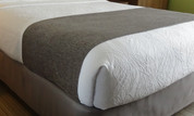 HSD Windsor Chenille Hotel Bed Scarf, Full