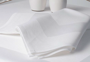 Satin Band Cloth Napkins, 55% Cottton 45% Polyester  Case of 300