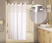 PreHooked™ Allure Shower Curtain, 71x74, 12 per Case, Price Per Each