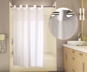 PreHooked™ Allure Shower Curtain, 71x74, 12 per Case, Price Per Each