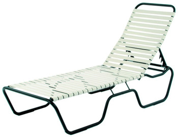 Sanibel Strap Chaise Lounge Chair Stackable