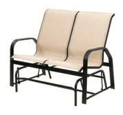 Maya Sling High Back Loveseat Glider