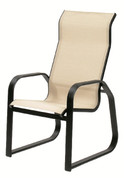 Maya Sling Supreme Sled Dining Chair