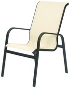Seascape Sling High Back Dining Chair