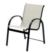 Seascape Sling Cafe Chair, Stackable