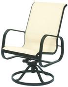 Seascape Sling  High Back Swivel Chair Tilt