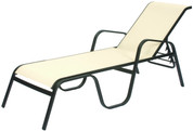 Seascape Sling  Chaise Lounge, Stackable
