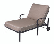 Madison Cushion Wide Chaise Lounge Chair
