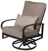 Madison Cushion Leisure Swivel Tilt Chair