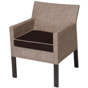 Summer Upholstered Furniture Dining Chair with Arms