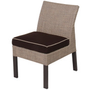 Summer Upholstered Furniture Dining Chair, Armless