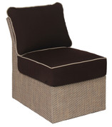 Summer Upholstered Furniture Armless Section Chair