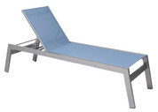 Vectra Rise Chaise Lounge Armless, No Wheels