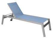 Vectra Rise Chaise Lounge Armless, with Wheels
