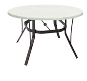 Round Fiberglass Dining Table