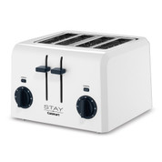 Stay by Cuisinart 4-Slice Toaster, White