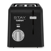 Stay by Cuisinart 2-Slice Toaster, Black