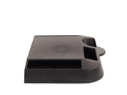 Lancaster 090703 Brew Station Coffee Tray with Front and Side Condiment Holders