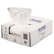 Inteplast Disposable 12x12 3 Qt. .24 mil Clear Ice Bucket Liners, 1,000/box