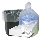 Good N Tuff High Density Waste Can Liner 7-10 Gal 24x23, 1000/Box