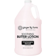 Ginger Lily Farms Botanicals Soothing Butter Lotion Champagne Mimosa Gallon - Case of 4