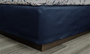 HSD Simplicity Box Spring Cover 100% Polyester, Navy