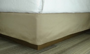 HSD Simplicity Box Spring Cover 100% Polyester, Tan