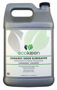 ecokleen Organic Odor Eliminator Spray Refill, 1 Gallon, Case of 4