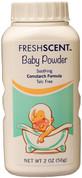 Freshscent Baby Powder Cornstarch Formula, 2 oz, Case of 96