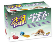 Urine Off Zorb-It-Up! Amazing Absorbent Sheets 15 Ct. Box, Case of 12 Boxes