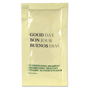 Good Day Conditioning Shampoo Packet, .25 oz, Case of 500