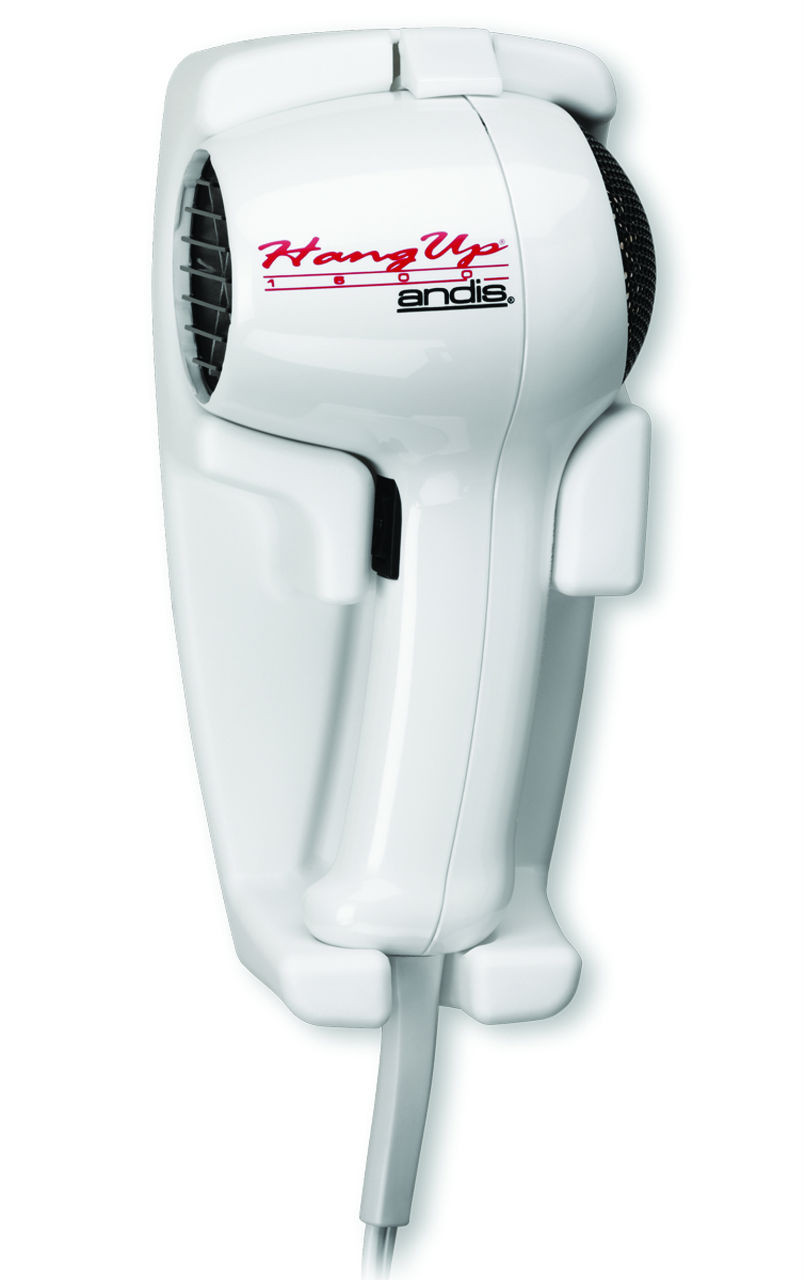 Andis 30135 Hang Up 1600 Wall Mount Hair Dryer Plug In Hd