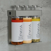 SOLera PAYA Shower Dispenser, 3-Chamber