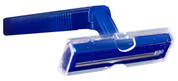 Twin Blade Razor Navy Handle, Poly Bagged, Case of 144