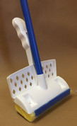 Sponge Mop with Scrubber, Case of 6