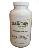 Green Tabz™ Windshield and Glass Cleaner Tablets, 100 Tablets, Case of 12