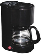 Lodging Star 4-cup Coffee Maker Black with Glass Carafe