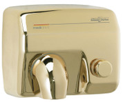 Saniflow E88O Push Button Hand Dryer - Golden Finish